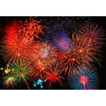 Fototapet Fireworks 131