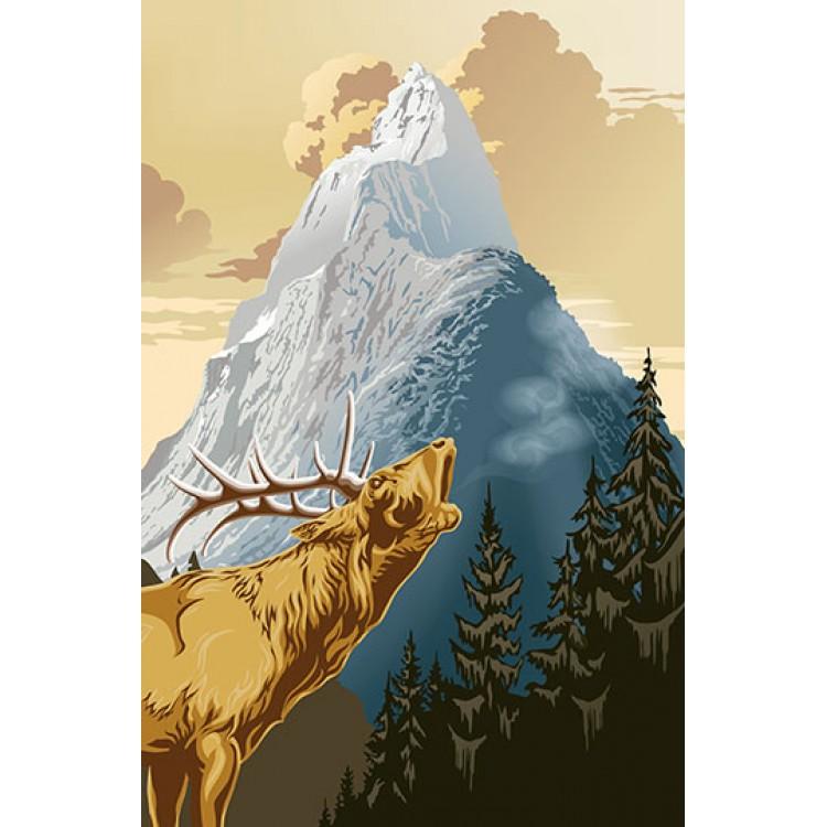 Fototapet King of The Mountain 633