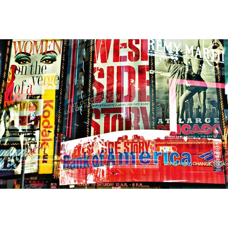 Fototapet Times Square Neon Stories 642
