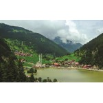 Fototapet Satul dintre munti 1064