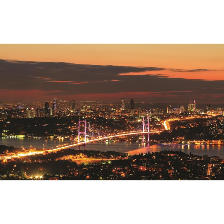 Fototapet Oraș în zori 1066