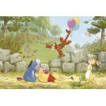 Fototapet Winnie Pooh Ballooning 8-460