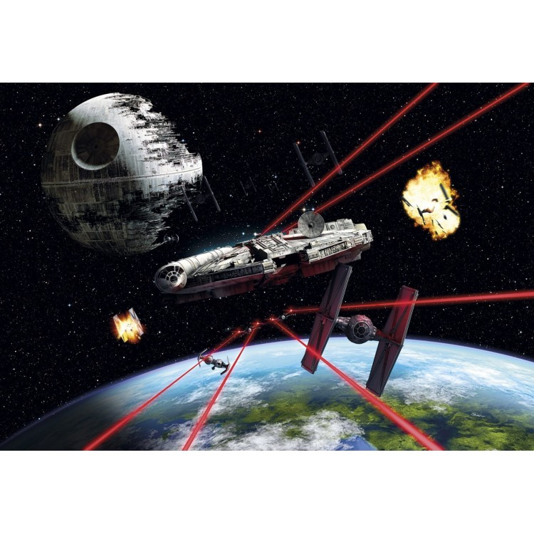 Fototapet Star Wars Millennium Falcon 8-489